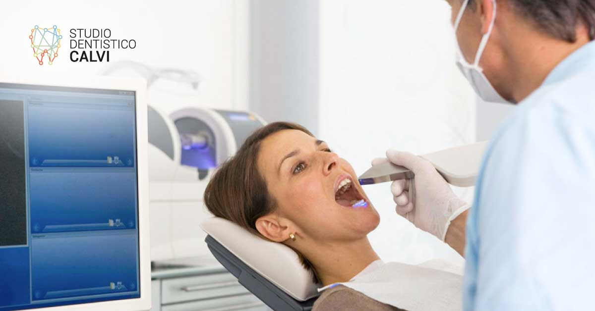 Impronta dentale con il chair side | Studio Dentistico Calvi